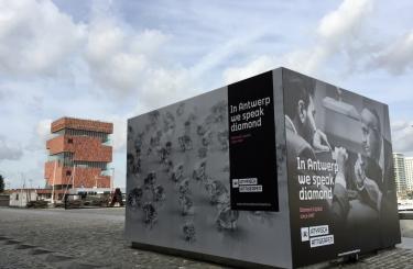 In Antwerp we speak diamond (MAS)